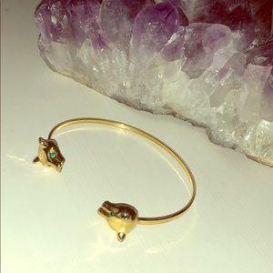 GOLD PANTHER BRACELET